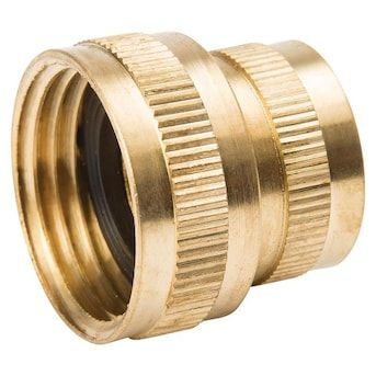 B K 3 4 In Threaded Female Hose X Fip Adapter Fitting Lowes Com In 2020 Brass Fittings Fittings Hose