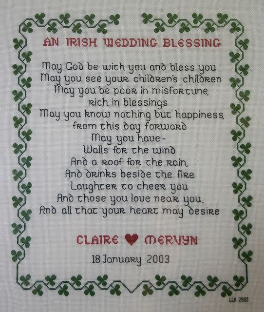 Irish Wedding Blessing Feel Like This Is A Must To Be Read Irish