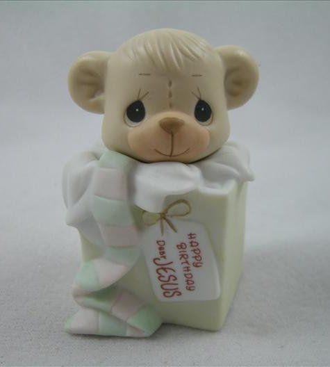 Happy Birthday Dear Jesus Happy Birthday Dear Bear Figurine Teddy