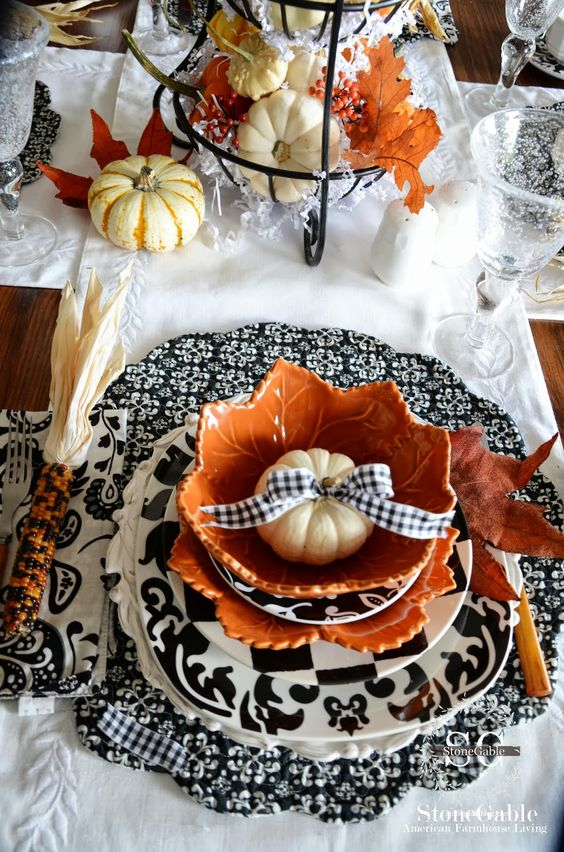 20 New Ways to Decorate Your Home With Pumpkins: