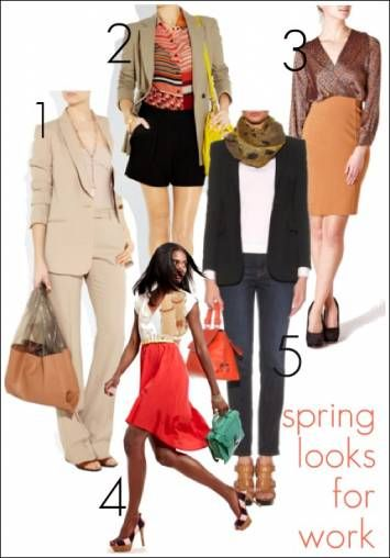 spring outfits for work