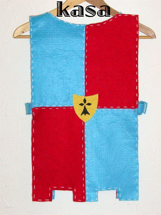 un costume de chevalier