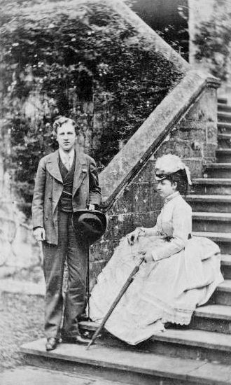 Princess Louise and husband John, Marquess of Lorne