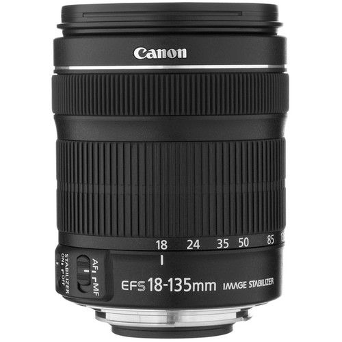 Canon Ef S 18 135mm F 3 5 5 6 Is Stm Lens White Box Canon Canon Dslr Camera Optical Image