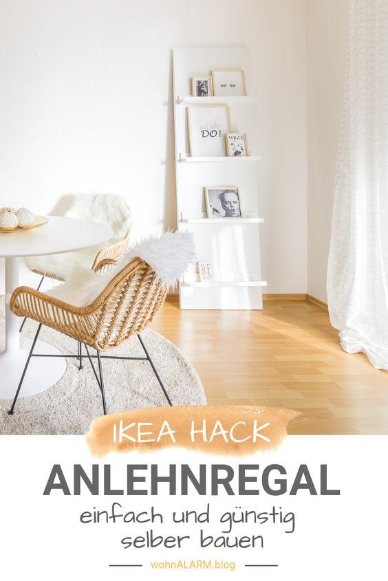 Ikea Hack Anlehnregale Fur Bucher Bilder Und Deko Ikea Hack Wohnen Ikea