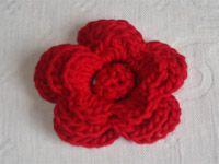 Passo a Passo Flor de crochê para broche - faça você também esse broche de croche