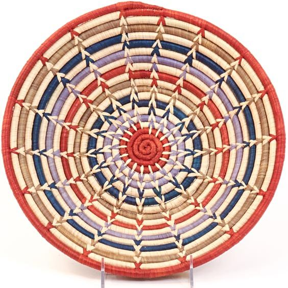 Basket Weaving With Raffia : Africa bukedo raffia bowl from uganda is the