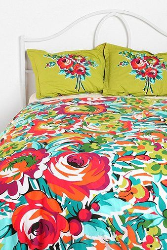 UrbanOutfitters.com > Bouquet Duvet Cover.  I really want this!!!