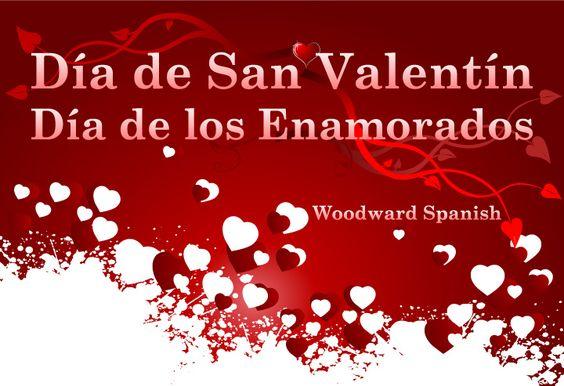 Valentine's Day in Spanish - Día de San Valentín - Día de los Enamorados - Día del Amor y la Amistad - Resources for Spanish teachers and students.