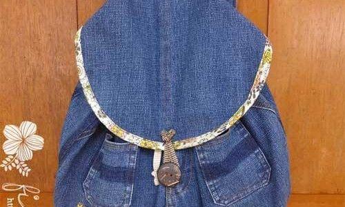 Denim Backpack – Free Sewing Tutorial