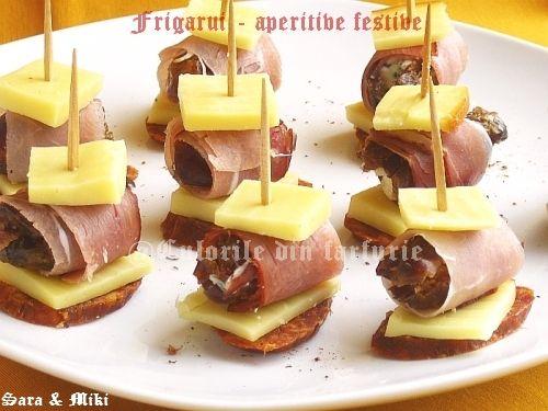 Frigarui - aperitive festive ~ Culorile din farfurie