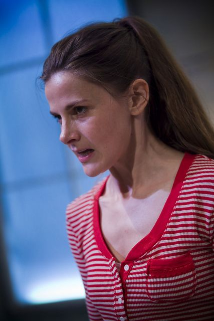 Louise Brealey as Cassandra in The Trojan Women (Image © Iona Firouzabadi) by gatetheatre, via Flickr