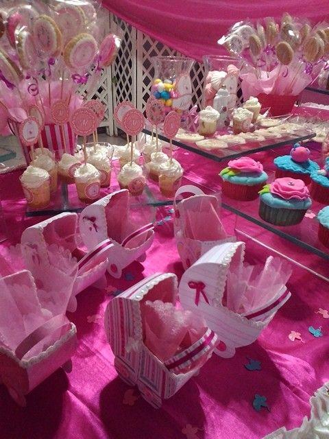 mesa de postres baby shower tortas hechas por mi pinterest mesas