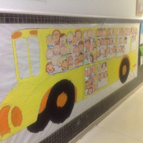Autobús de bienvenida al colegio!!!