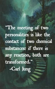 Mr Jung obviously knew my sister and me ........ Reactions and transformations all over the place  ;)) .......... Evie x