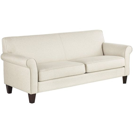 Pier 1 Imports Tan Colby Rolled Arm Sofa found on Polyvore featuring home  furniture  Pinterest. Pier 1 Imports Furniture