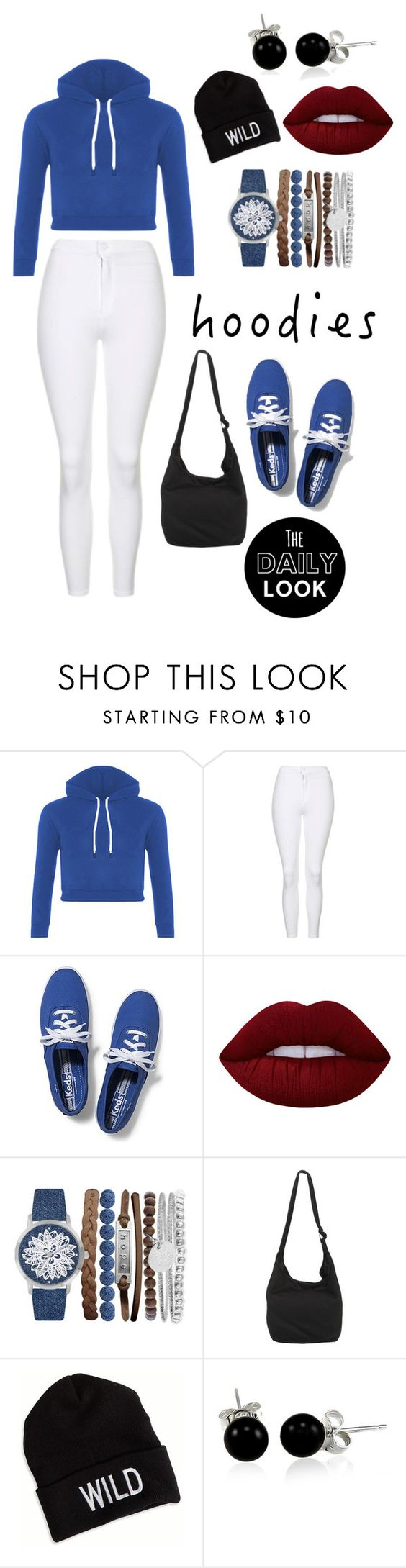 """Hoodies ☁"" by dicksoutforharambe ❤ liked on Polyvore featuring Topshop, Keds, Lime Crime, Jessica Carlyle, American Eagle Outfitters and Bling Jewelry"