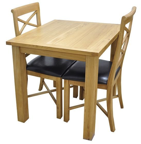 Dining Table For 2 Amusing Wimbledon Oak Small Dining Table And 2