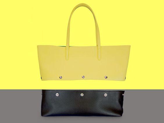 [色や素材を組み合わせて、着せ替えが出来る、本革トートバッグ。カラーも素材もスペシャルな、高級レザーを使用した限定モデル登場。]ちょっと変わったトートバッグで...|ハンドメイド、手作り、手仕事品の通販・販売・購入ならCreema。