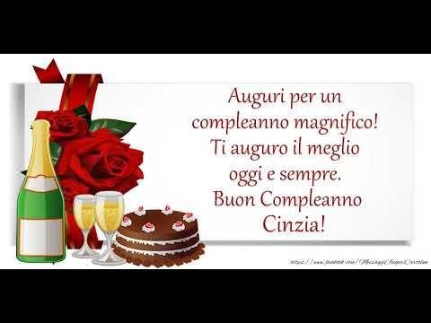 Buon Compleanno Cinzia Youtube Buon Compleanno Zia Buon Compleanno Auguri Di Buon Compleanno