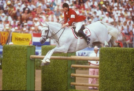 John Whitaker riding Milton at the Mexico Olympics