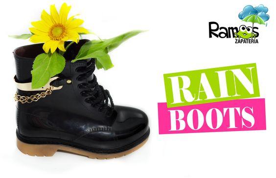 Originales botas de lluvia