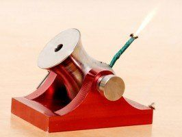 Black powder desktop cannon - yup, a real cannon for your desk! Office Space anyone?