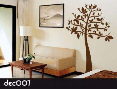 Vinilos decorativos de rboles naturaleza en casa for Vinilos decorativos casa