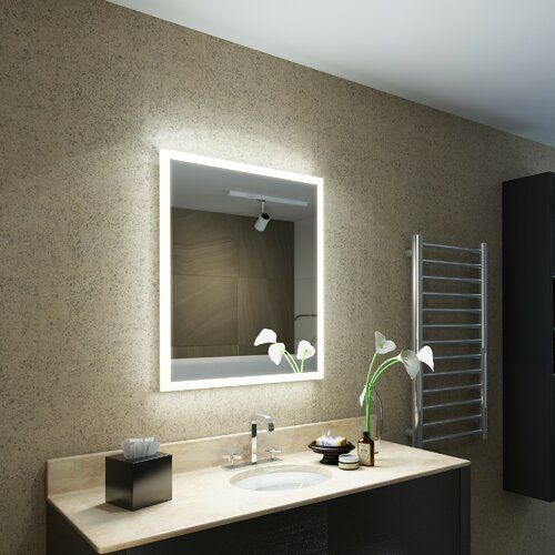 Hinnant Fog Free Bathroom Mirror With Shaver Socket Belfry Bathroom Illuminated Mirrors Led Mirror Mirrors Uk