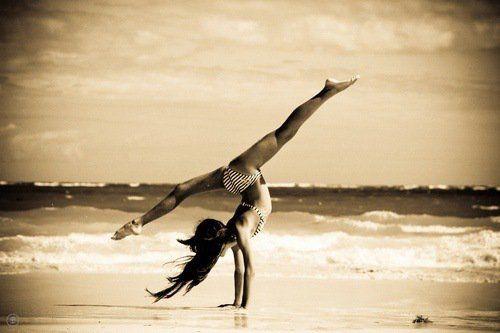ballerina swag | Thème 17 : la gymnastique à la plage ♥