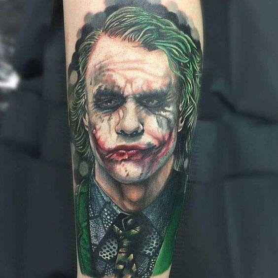 Die 19 Besten Ideen Zu Joker Tattoo Joker
