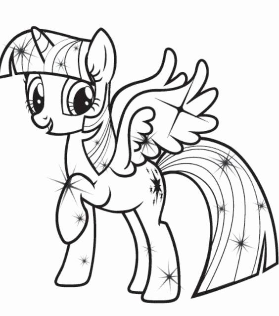Twilight Sparkle Coloring Page Elegant The Best My Little Pony Coloring Pages Princess Twil In 2020 My Little Pony Coloring Cute Coloring Pages Detailed Coloring Pages