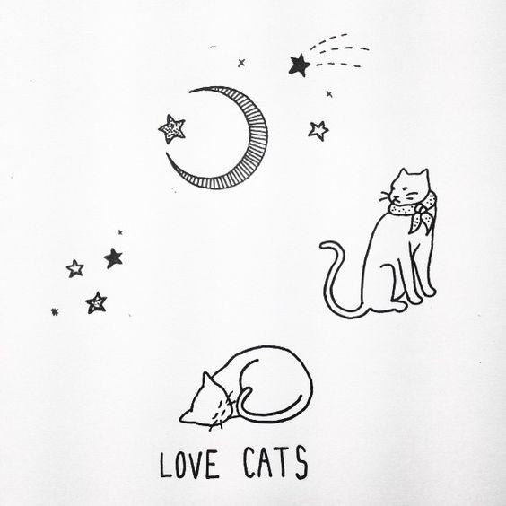 Feline #emilyalicejohnston #catillustration