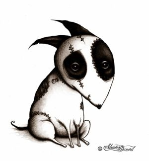 Tim Burton Frankenwennie Drawing