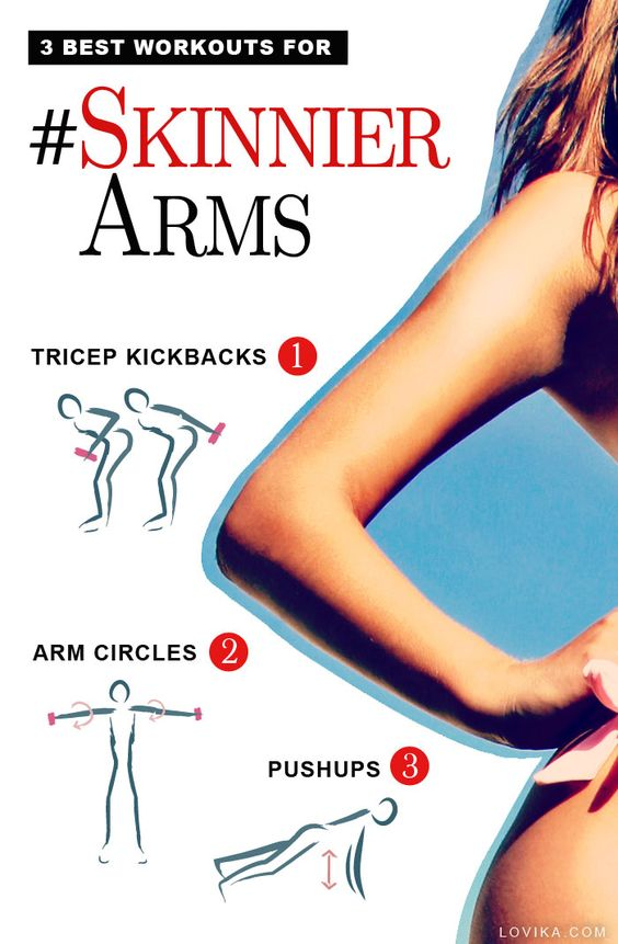 How to Get Skinny Arms Fast!