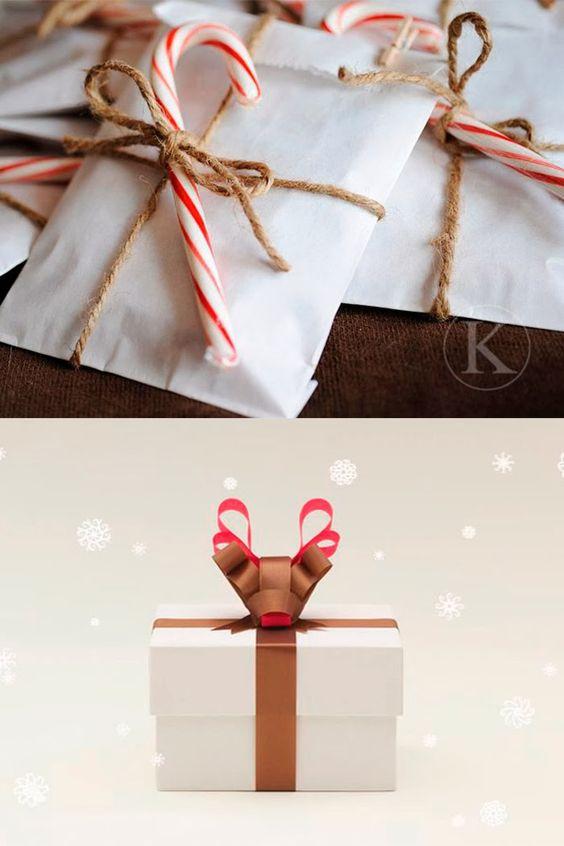 Inspiración Envolver Regalos De Navidad NAVIDAD Pinterest Navidad - envoltura de regalos originales