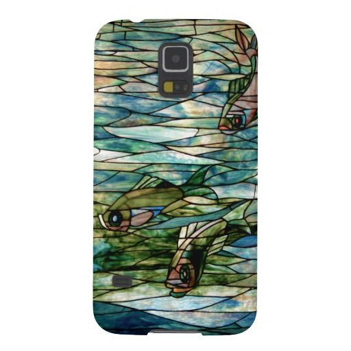 Stained Glass Fish-Tiffany-Samsung Galaxy S5