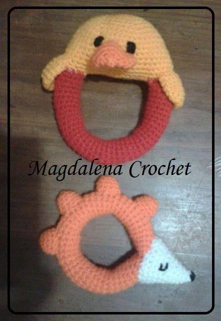 Sonajeros by Magdalena Crochet