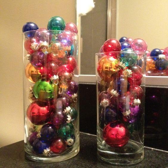 Bathroom Decor Vase : My holiday bathroom decor vase and cup of similar shapes