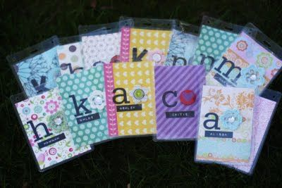 tons of cute cute YW handouts!