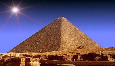 The most famous Great Pyramid of Giza