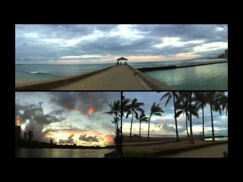 Hawaiian song, played on panflute and piano • Brad White and Pierre Grill. Beautiful Music.