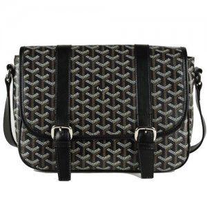 Goyard Messenger Shoulder Bag Black