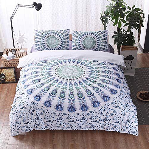 Xwliu 3d Printed Duvet Cover Pillowcase Set Vintage Folk Custom Designs Quilt Bedding Set Green 230x Parure De Lit Jeux De Housse De Couette Housse De Couette