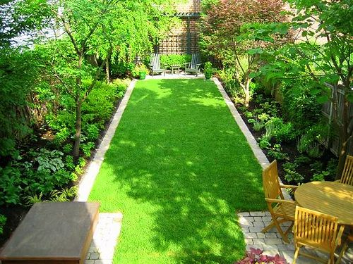 Gardens Backyards and Seat at on Pinterest