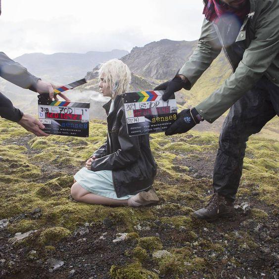 Ni el frío detiene los sensates. #Sense8 #NetflixTrasLasCámaras #Islandia