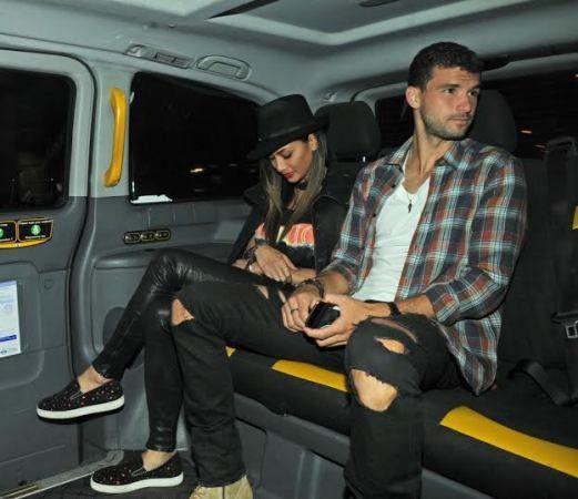Nicole Scherzinger and tennis star boyfriend Grigor Dimitrov look loved-up on romantic date night (photos)