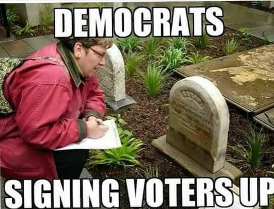 2016 Election;  some cities have more registered voters than actual… Don't forget Pay for Yay