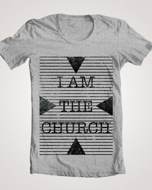 wunder print and design i am the church t shirt