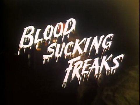 blood, freak, and sucking image